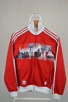 Adidas Originals Chicago Bulls Track Jacket NBA Cityscape Basketball Sz XS