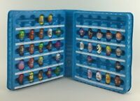 Mighty Beanz Blue Carry Case Moose Toys 37 Beanz Rabbit Goldfish Mixed Lot Game