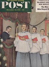 Saturday Evening Post Carr-Hartley Colin Lofting December 26 1953