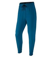 Nike Dry Men's Fleece Training Jogger Pants 742212-457 Blue, MEDIUM