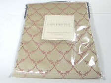 "Croscill Classics Conservatory European Pillow Sham 26""x26"" Cream Queen King New"