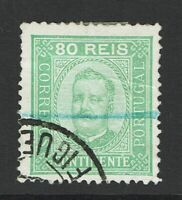 Portugal SC# 74a, Used, Hinge Remnant, see notes - S9841