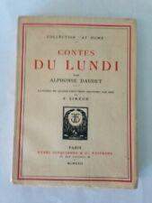 Livres anciens et de collection Alphonse Daudet 1900 à 1960, sur livres illustrés
