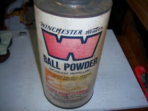 Antique Winchester-Western 296 Empty 8 LB Ball Powder Can
