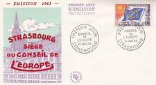 FRANCE 1965 FDC CONSEIL DE L'EUROPE  YT SERVICE 26