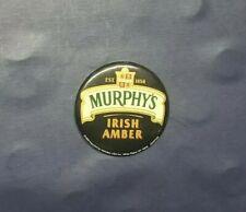 Murphy's Irish Amber Beer Advertising Pinback Button 1999
