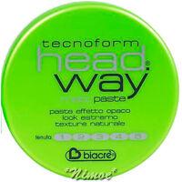 Matt Paste head.way 125ml Tecnoform Biacrè ® finish effect natural definition