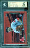 Mookie Betts Rookie Card 2014 Topps Update Red Hot Foil #US301 (PRISTINE) BGS 10