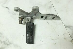 04 Hyosung Alpha Sports GT 250 GT250 front left foot rest peg and mount