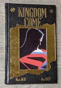 Kingdom Come Hardcover SIGNED Alex Ross & Mark Waid DC Comics 1997 HC Gold Foil