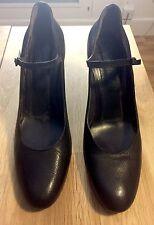 Roberto del Carlo Covered Heel Pumps / Shoe Black Size 40.5