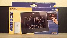 TFA Slim Touch Funk Wetterstation 35.1128 mit Hydro Außensensor Thermometer Neu