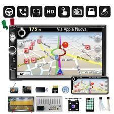 "7"" 2DIN AUTORADIO BLUETOOTH STEREO Touch Screen RADIO MP5 AUX FM AUTO + CAMERA"