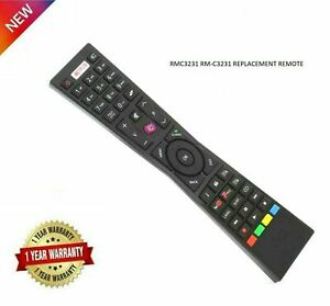 New Replacement Remote Control for JVC RM-C3231 RMC3231 For Smart 4K LED TV