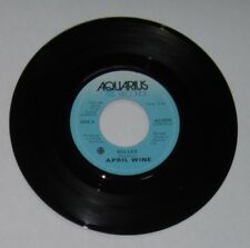 "April Wine - Canadian 45 - ""Roller"" / ""Right Down To It"" - Aquarius 5079 - VG+"