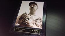 Ralph Kiner 10x13 Wood Plaque ~8x10 Photo w/Brass Nameplate~ HOF 1975 (M2)
