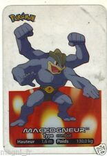 Pokemon lamincards n° 068 - MACKOGNEUR (A2982)