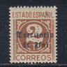 Ifni (1948/49 ) Nuovo senza Linguelle MNH Spain - Edifil 37 (2 Cts )