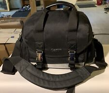 "CANON Camera Bag Lg Black Chrome Trim 16"" x 9"" x 10"" ***************************"