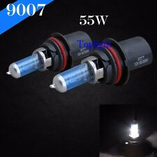 9007-HB5 White 5000K 65/55w Xenon Halogen Headlight 2x Light Bulb High Low Beam