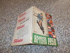 ALMANACCO ILLUSTRATO DEL CALCIO 1950 RIZZOLI ORIGINALE OTTIMO CALCIATORI