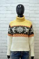 TIMBERLAND Maglione Donna Taglia M Pullover Felpa Sweater Shirt Cardigan Maglia