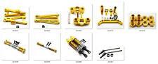 Pull rod cup Arm Upgrade metal parts for Jlb Racing Cheetah 1/10 Rc Car Yellow