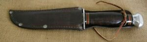 Vintage WWII US Army Fixed Blade Knife, Customized RH PAL 36