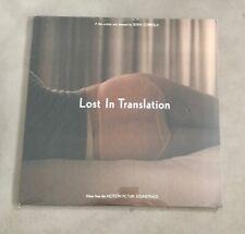 New listing LOST IN TRANSLATION OST SOUNDTRACK VINYL LP ORIGINAL US PRESSING SEALED RARE!!