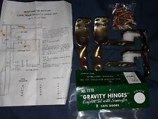 10 Sets Gravity Hinges Cafe Door Hinge Lot