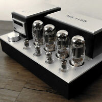 YAQIN MS-110B KT88 x4 Vacuum Tube Hi-end Integrated Power Amplifier 110v-240v UK