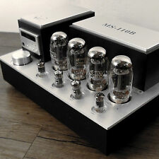 YAQIN MS-110B KT88 x4 Vacuum Tube Hi-end Integrated Power Amplifier 110v-240v UK