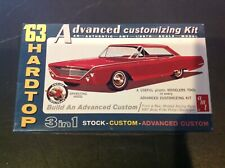 AMT '63 NEW FORD 500 XL SPORTS HARDTOP MODEL CAR KIT 1:25 SCALE KIT# 6003