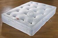 3ft 4ft6 5ft 10inch topper memory foam pocket sprung mattress 1500 brand new