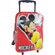 Mickey Mouse carpeta a ruedines Rojo con ruedas L bolsa espalda Disney 37x28 cm