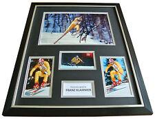 Franz Klammer Signed FRAMED Huge Photo Autograph Display Olympics PROOF & COA