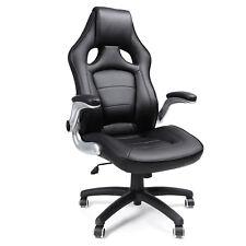 Chaise de bureau Fauteuil de bureau hauteur réglable PU siège de bureau OBG62B