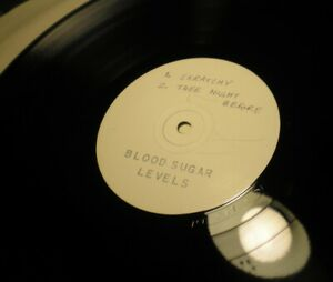 """BLOOD SUGAR - LEVELS Andrew Weatherall 2 x12"""" Promo 1996 Emissions Lo-Fi RARE VG"""
