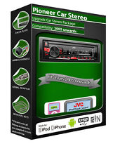 Ford Fusion car radio, Pioneer stereo USB AUX in, iPod iPhone Android player