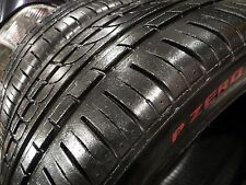 ALMOST NEW 2 TWO RED LABEL PIRELLI P ZERO ROSSO 225/40/ZR18 N4 225 40 18 1023