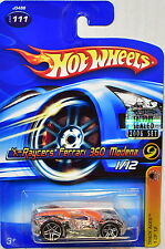 Hot Wheels 2006 track Aces X-raycers Ferrari 360 Modena #111