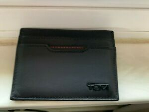TUMI Delta ID Lock Shielded Money Clip Card Case