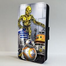 Bb8-8 2 Star Wars Characters FLIP PHONE CASE COVER for IPHONE SAMSUNG