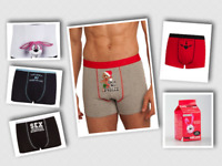 Fun Mens Valentines/Fun  Boxers by Ann Summers