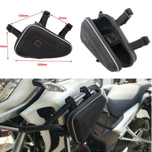 Motorcycle Saddle Bag Bike Left Side/Right Toolkit Storage Package Small Kits