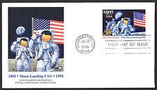 US #2842 Moon Landing Express Fleetwood Cachet UA Armstrong + Aldrin(LOT 522)