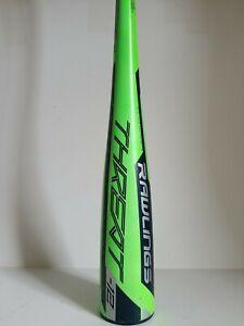 "Rawlings Threat -12 USA: US9T12 Baseball Bat - 27"" 15 oz."