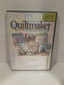 Quiltmaker 2010 Magazines 131-136 On discs for computer viewing rare