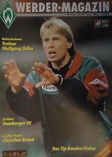 Programm 1997/98 SV Werder Bremen - Hamburger SV