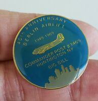 Vtg Berlin Airlift 40th Anniversary Tie Tack Pin 1949 1989